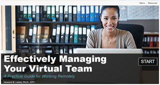 Managing a Virtual Team Effectively