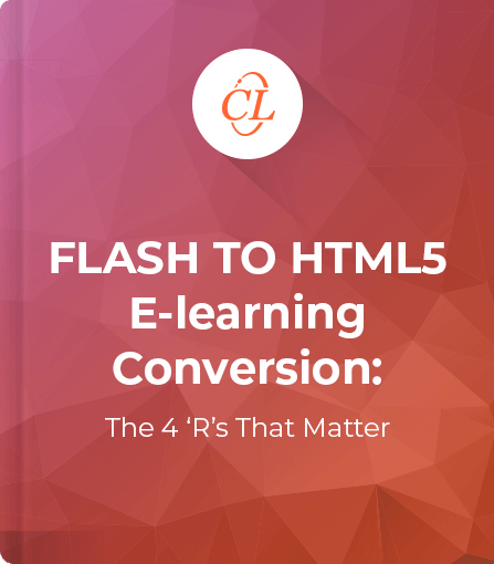 Flash to HTML5 E-learning Conversions