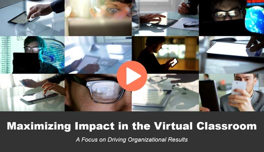Dr. Lewis Introduces the Course Maximizing Impact in the Virtual Classroom