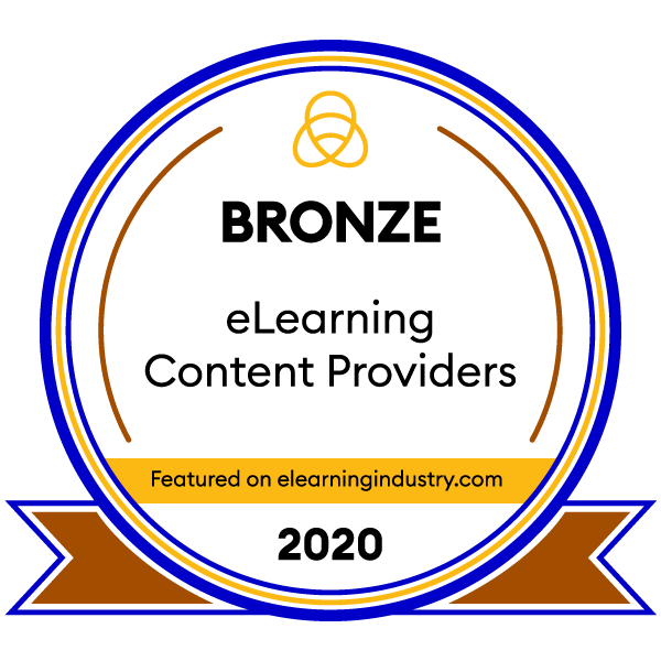 CommLab India Wins the Bronze Award Among the Top eLearning Content Development Companies for 2020